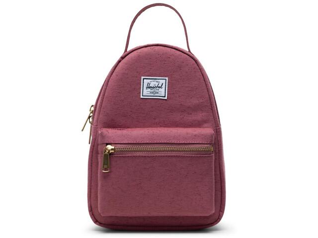 Herschel Nova Mini Backpack 9l deco rose slub